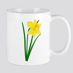 Yellow Daffodil Mugs